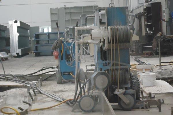 Diamantdraht - CODE Demolition Dienst der Betonrückbau